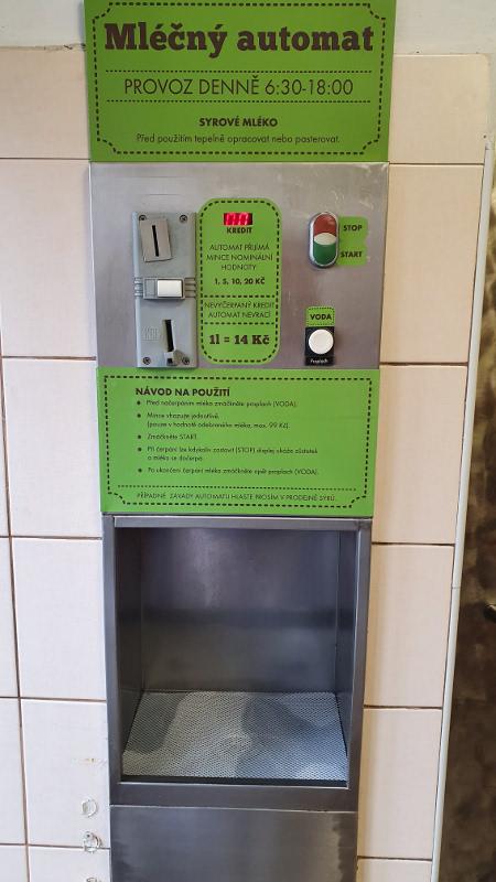 Automat na mléko